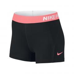 Dámské kraťasy Nike W NP SHORT 3IN L BLACK/LAVA GLOW