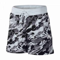 Dámské kraťasy Nike W NSW MODERN SHORT RCK GRDN   848440-043   Bílá, Černá, Šedá   M