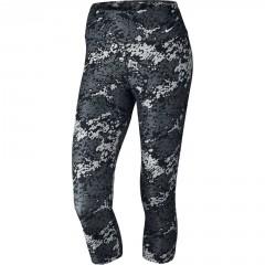 Dámské legíny Nike LEGEND TI POLY CAPRI DRFT M BLACK/DARK GREY/WHITE