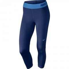 Dámské legíny Nike NP CL CAPRI | 725468-456 | Modrá | L