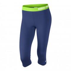 Dámské legíny Nike PRO CAPRI | 589366-456 | Modrá | XS