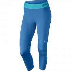 Dámské legíny Nike PRO COOL CAPRI | 725468-435 | Modrá | L
