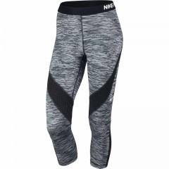 Dámské legíny Nike PRO HC CAPRI REFLECT | 822290-010 | Šedá | XS