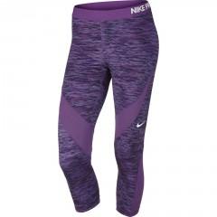 Dámské legíny Nike PRO HC CAPRI REFLECT | 822290-556 | Fialová | M