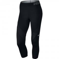 Dámské legíny Nike PRO HYPERCOOL CAPRI XS BLACK/WHITE