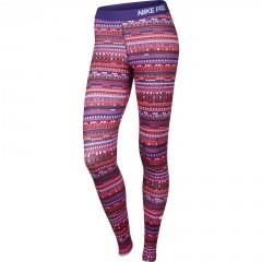 Dámské legíny Nike PRO WARM 8 BIT TIGHT   683717-696   Barevná   S