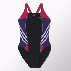 Dámské plavky adidas I INS ATH 1PC 36 BLACK/BOPINK