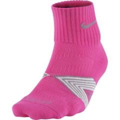 Dámské ponožky Nike Running Dri-FIT | SX4751-618 | Růžová | S