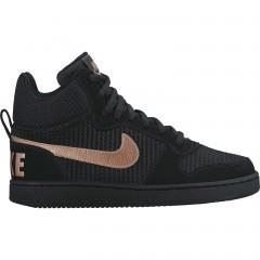Dámské tenisky Nike W COURT BOROUGH MID PREM 38 BLACK/MTLC RED BRONZE-BLACK