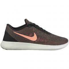 Dámské Tenisky Nike WMNS FREE RN | 831509-008 | Černá, Oranžová | 36,5