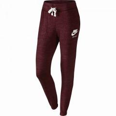 Dámské tepláky Nike W NSW GYM VNTG PANT | 726061-681 | Červená | L