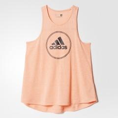 Dámské tílko adidas LOGO TANK | AJ6384 | Oranžová | S
