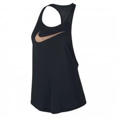 Dámské tílko Nike W TANK FLOW METALLIC | 838772-010 | Černá | L