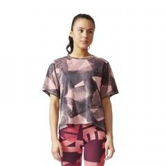 Dámské trička adidas Performance COOL T | BQ0807 | Růžová | L