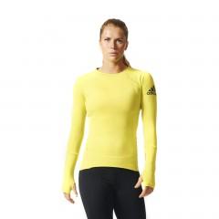 Dámské tričko adidas Performance CLMHT LS TEE | AY8604 | Žlutá | L