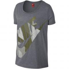 Dámské tričko Nike W NSW TEE SS SKYSCRAPER | 846476-091 | Šedá | M