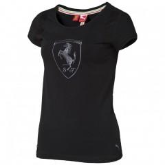 Dámské tričko Puma Ferrari Ferrari Shield Tee black S