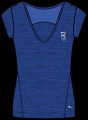 Dámské tričko Puma Ferrari Ferrari Shield Tee monaco blue