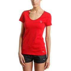 Dámské tričko Puma Ferrari Ferrari Shield Tee rosso corsa S