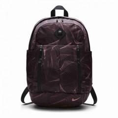Dámský batoh Nike W NK AURA BKPK - AOP | BA5242-678 | Červená, Černá | MISC