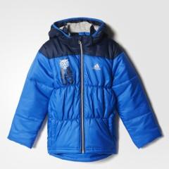 Dětská bunda adidas LB J P JKT | AB8316 | Modrá | 116