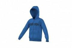 Dětská bunda adidas YB ESS LIN FZBR | AO4641 | Modrá | 128