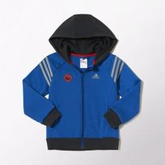 Dětská mikina adidas LK DY SM FZ HD | M62961 | Modrá | 104