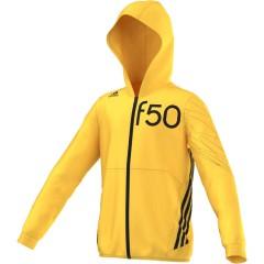 Dětská mikina adidas YB F50 KN FZ HD | M63137 | Žlutá | 164