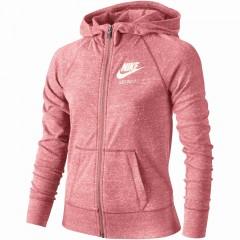 Dětská mikina Nike G NSW VNTG HOODIE FZ | 728402-808 | Růžová | L