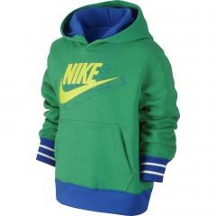 Dětská mikina Nike YA76 GFX BF OTH HOODY LK | 589790-350 | Zelená | XL