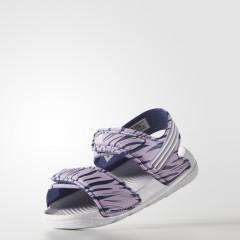 Dětská otevřená obuv adidas Akwah 9 I | S74686 | Fialová | 25
