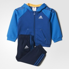 Dětská souprava adidas I ST FZ HD 68 EQTBLU/SHOBLU
