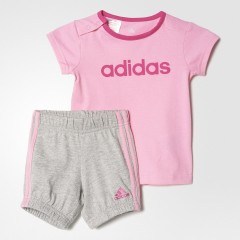 Dětská souprava adidas I SU EASY G SET 92 SEPIGL/EQTPIN