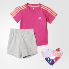 Dětská souprava adidas I SU GIFT PACK | AJ7358 | Růžová | 104