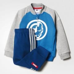 Dětská souprava adidas TO DY TA TRSUIT 74 UNIBLU/MGREYH