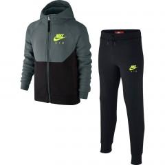 Dětská souprava Nike B NSW TRK SUIT AIR L HASTA/BLACK/VOLT