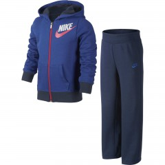 Dětská souprava Nike GFX FT CUFF WARM UP LK | 618173-480 | Modrá | L