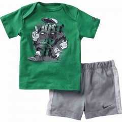 Dětská souprava Nike J SET INF | 605748-350 | Zelená | 3-6