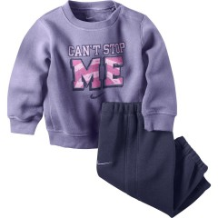 Dětská souprava Nike LS GFX CREW WARM UP (INF) 18-24