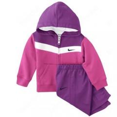 Dětská souprava Nike YA76 BF HOODY W U INF | 521929-667 | Růžová | 18-24