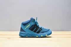 Dětská treková obuv adidas Performance AX2 MID I | CM7276 | Modrá | 26
