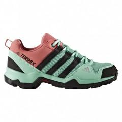 Dětská treková obuv adidas TERREX AX2R K 37 EASGRN/CBLACK/TACPNK