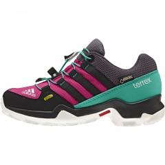 Dětská treková obuv adidas TERREX GTX K | AF6138 | Růžová, Tyrkysová | 37