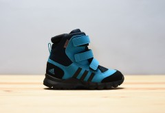 Dětská zimní obuv adidas Performance CW HOLTANNA SNOW CF I | CM7278 | Modrá | 26