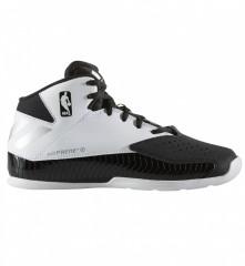 Dětské basketbalové boty adidas Nxt Lvl Spd V NBA K | B49616 | Bílá, Černá | 36