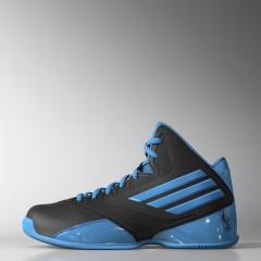 Dětské basketbalové boty adidas Performance 3 Series 2014 NBA K 36,5 CBLACK/SOLBLU/CBLACK