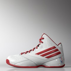 Dětské basketbalové boty adidas Performance 3 Series 2014 NBA K 36 FTWWHT/SCARLE/CROYAL