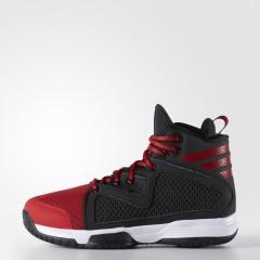 Dětské basketbalové boty adidas Performance adizero PG K 36 CBLACK/SCARLE/FTWWHT