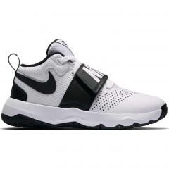 Dětské basketbalové boty boty Nike TEAM HUSTLE D 8 (GS) | 881941-100 | Bílá, Černá | 35,5