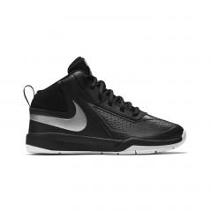 Dětské basketbalové boty Nike TEAM HUSTLE D 7 (PS) 29,5 BLACK/METALLIC SILVER-WHITE-BL